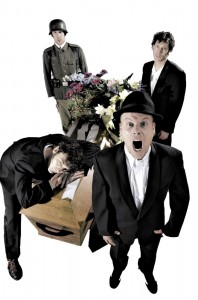 "Heideroosjes promofoto's voor de theater tour ""Manie Manie"""